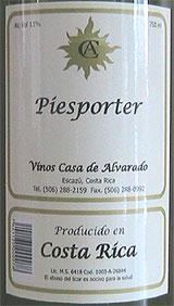 Casa de Alvarado Piesporter