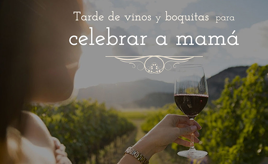 Tarde de vinos y boquitas para celebrar a mamá