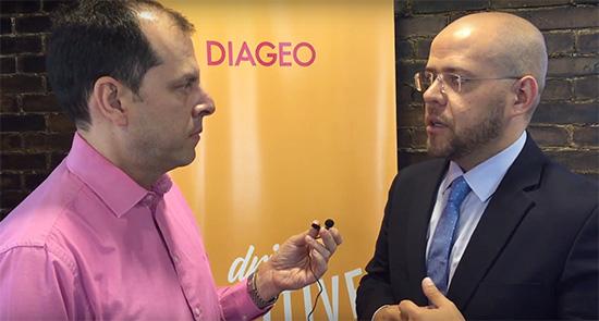 Entrevista embajador consumo responsable DIAGEO