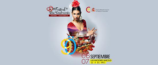 3er Festival de vino español en Guatemala
