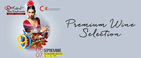 3er Festival de vino español en Guatemala (Premium Wine Selection)