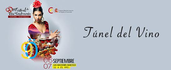 3er Festival de vino español en Guatemala (Túnel del vino)